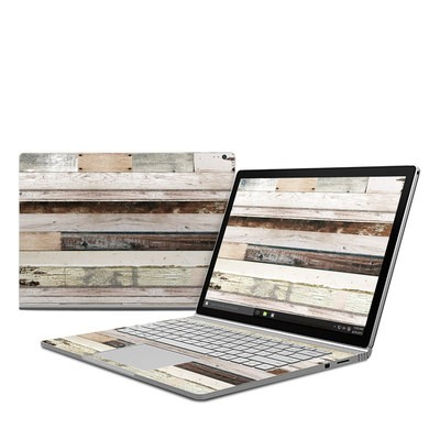 Microsoft Surface Book Skin - Eclectic Wood