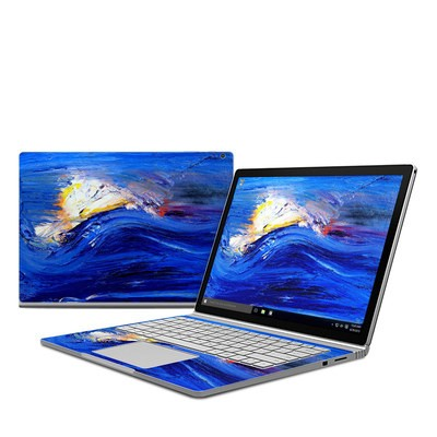 Microsoft Surface Book Skin - Feeling Blue