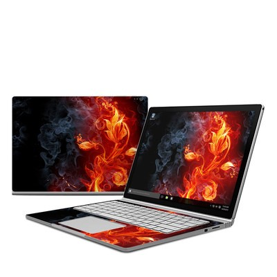 Microsoft Surface Book Skin - Flower Of Fire