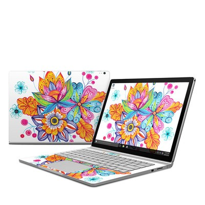 Microsoft Surface Book Skin - Flowers Bouquet