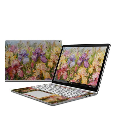 Microsoft Surface Book Skin - Field Of Irises