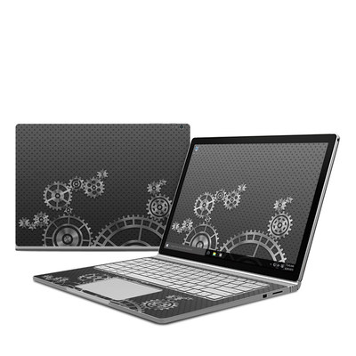 Microsoft Surface Book Skin - Gear Wheel