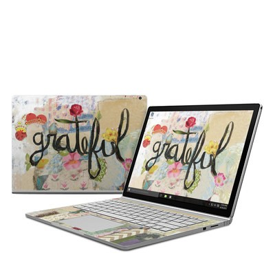 Microsoft Surface Book Skin - Grateful
