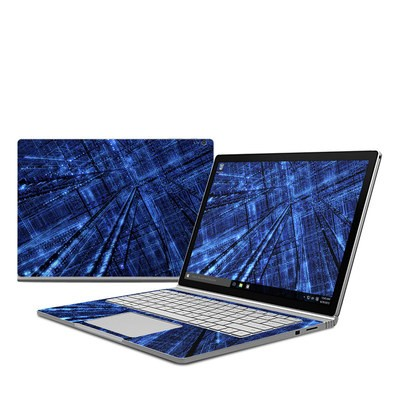 Microsoft Surface Book Skin - Grid