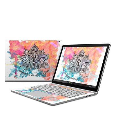 Microsoft Surface Book Skin - Happy Lotus