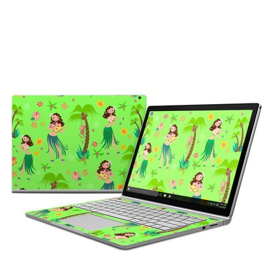 Microsoft Surface Book Skin - Hula Honey