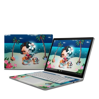 Microsoft Surface Book Skin - Hula Night