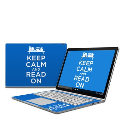 Microsoft Surface Book Skin - Keep Calm - Read