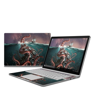Microsoft Surface Book Skin - Kraken