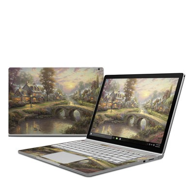 Microsoft Surface Book Skin - Sunset On Lamplight Lane