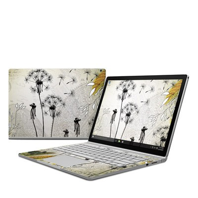 Microsoft Surface Book Skin - Little Dandelion