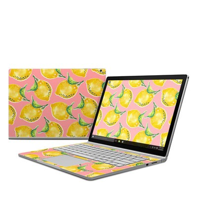 Microsoft Surface Book Skin - Lemon
