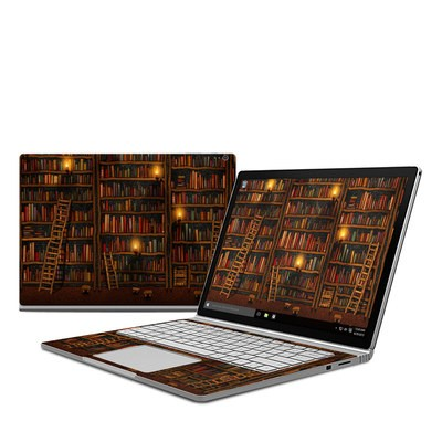 Microsoft Surface Book Skin - Library