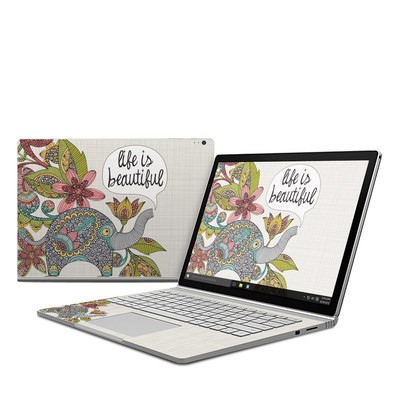 Microsoft Surface Book Skin - Life is Beautiful