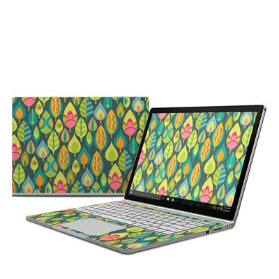 Microsoft Surface Book Skin - Little Leaves
