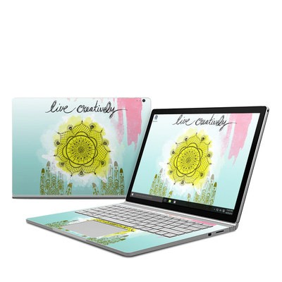 Microsoft Surface Book Skin - Live Creative