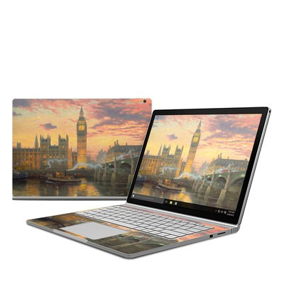Microsoft Surface Book Skin - London - Thomas Kinkade