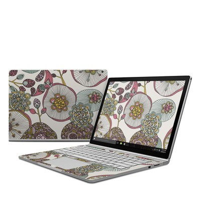 Microsoft Surface Book Skin - Lotus