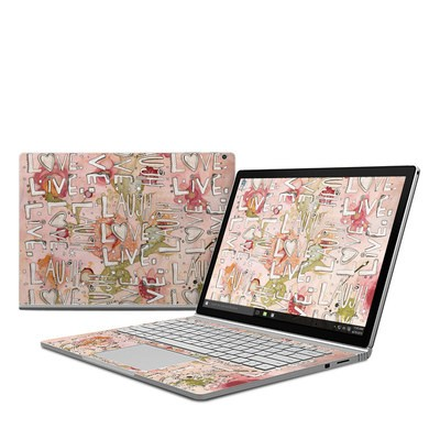 Microsoft Surface Book Skin - Love Floral