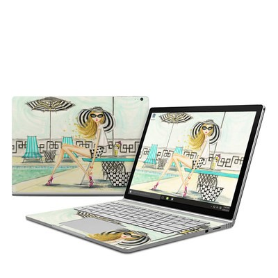 Microsoft Surface Book Skin - Luxe Retreat Poolside