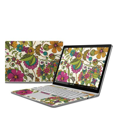 Microsoft Surface Book Skin - Maia Flowers
