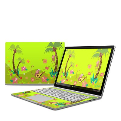 Microsoft Surface Book Skin - Monkey Melody