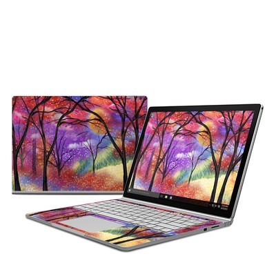 Microsoft Surface Book Skin - Moon Meadow