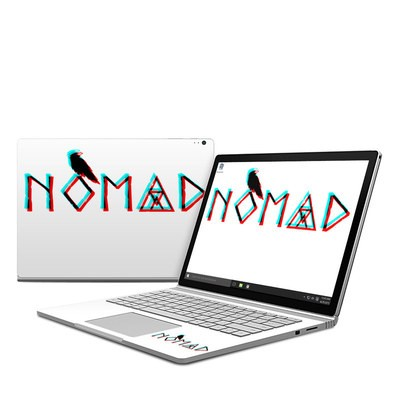 Microsoft Surface Book Skin - Nomad 3D