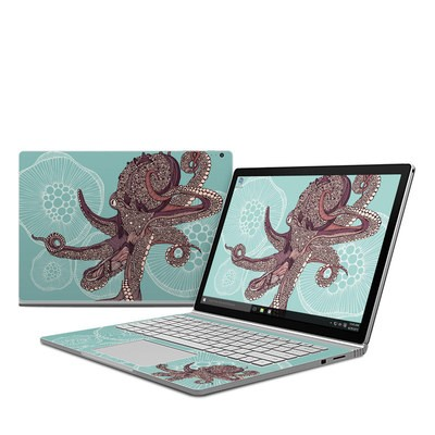 Microsoft Surface Book Skin - Octopus Bloom