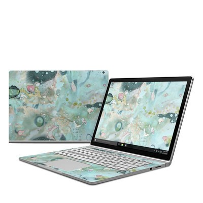 Microsoft Surface Book Skin - Organic In Blue