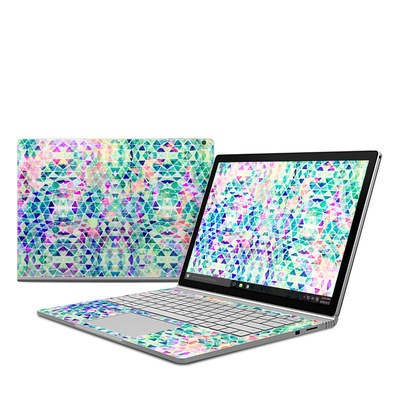 Microsoft Surface Book Skin - Pastel Triangle