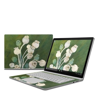 Microsoft Surface Book Skin - Poppy Pods