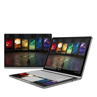 Microsoft Surface Book Skin - Portals