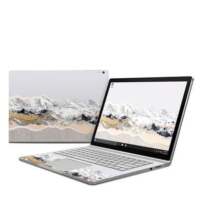 Microsoft Surface Book Skin - Pastel Mountains