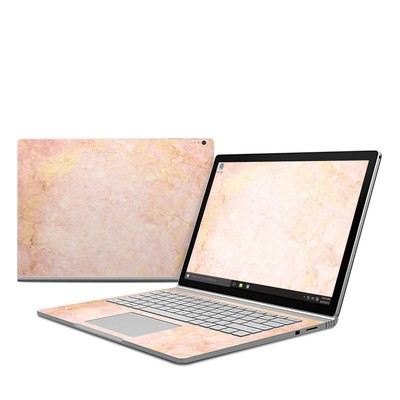 Microsoft Surface Book Skin - Rose Gold Marble