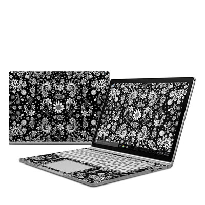 Microsoft Surface Book Skin - Shaded Daisy