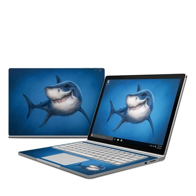 Microsoft Surface Book Skin - Shark Totem