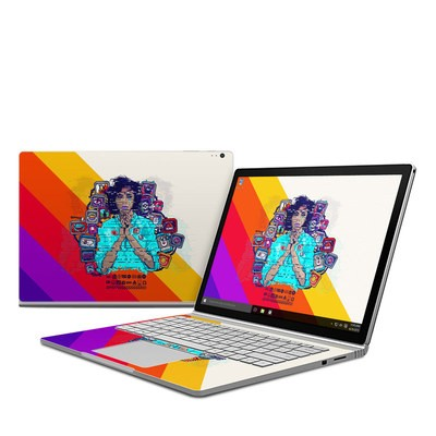 Microsoft Surface Book Skin - Singularity Glitch