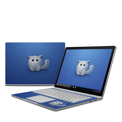 Microsoft Surface Book Skin - Snow Leopard