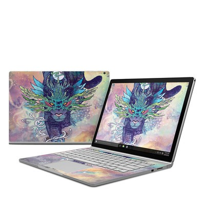 Microsoft Surface Book Skin - Spectral Cat