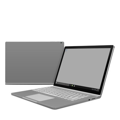 Microsoft Surface Book Skin - Solid State Grey