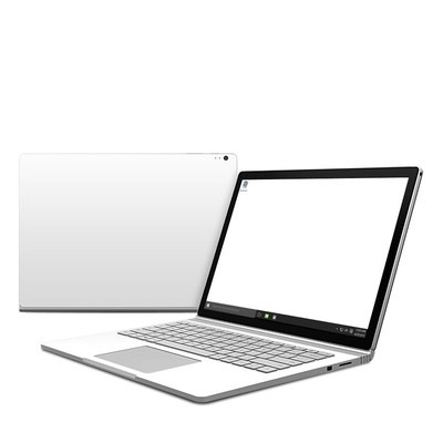 Microsoft Surface Book Skin - Solid State White