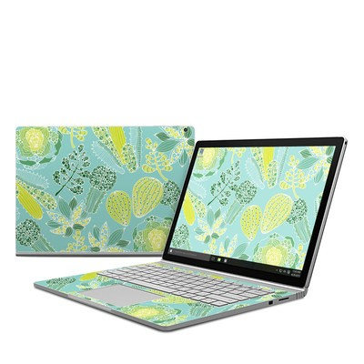 Microsoft Surface Book Skin - Succulents