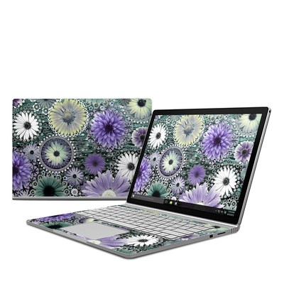 Microsoft Surface Book Skin - Tidal Bloom