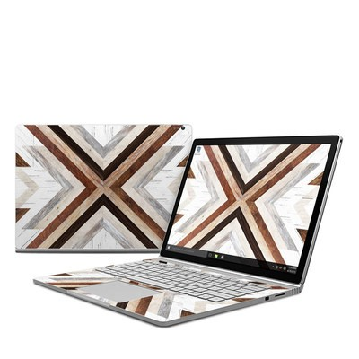 Microsoft Surface Book Skin - Timber