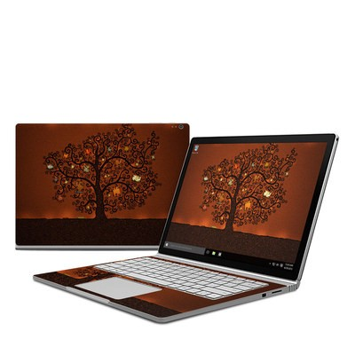 Microsoft Surface Book Skin - Tree Of Books