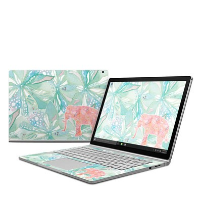 Microsoft Surface Book Skin - Tropical Elephant