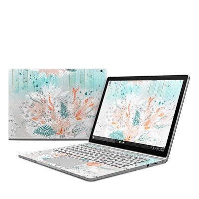 Microsoft Surface Book Skin - Tropical Fern