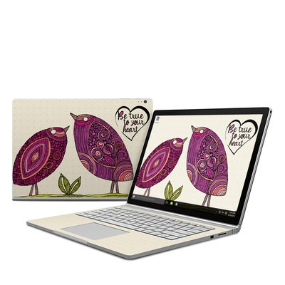 Microsoft Surface Book Skin - True Birds