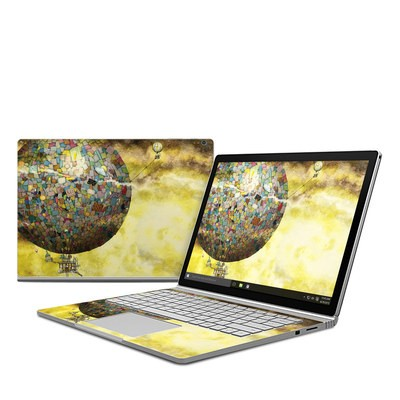 Microsoft Surface Book Skin - Up Up and Away